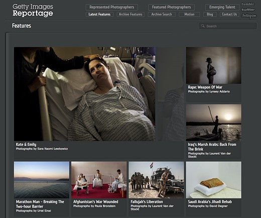 Getty Images Reportage shifts from editorial to commercial focus 1
