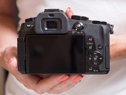 Hands-on with the Panasonic Lumix DMC-G85 2