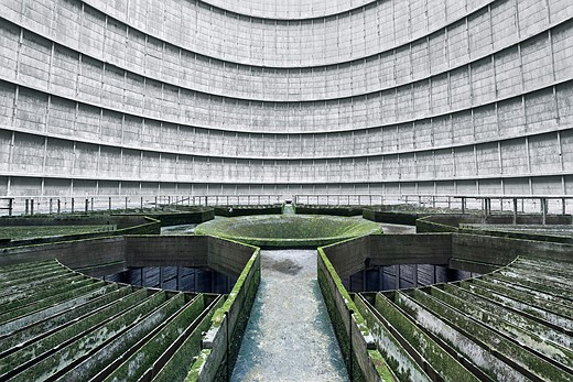 Power struggle: Hauntingly beautiful images of abandoned cooling towers 6