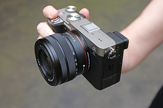 Hands-on with the new Sony a7C
