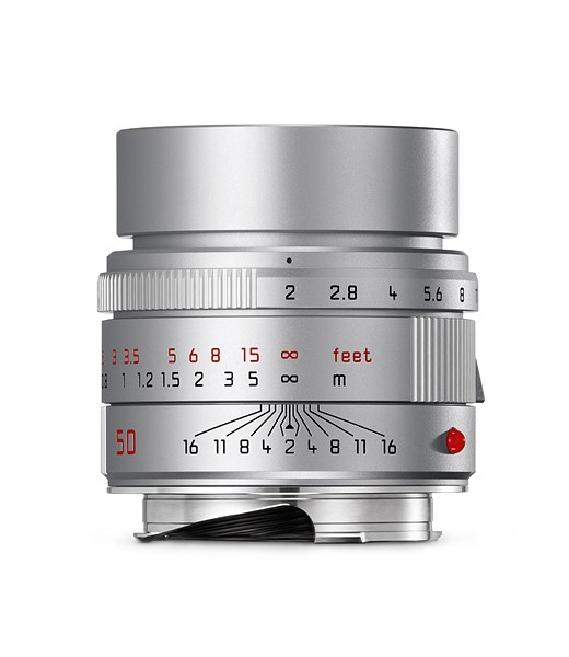 Leica introduces silver version of the APO-SUMMICRON-M 50mm F2 ASPH 1