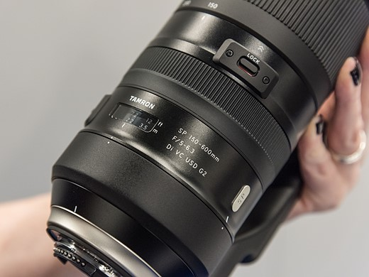 Photokina 2016: Hands-on with Tamron's SP 150-600mm F5-6.3 Di VC USD G2 3