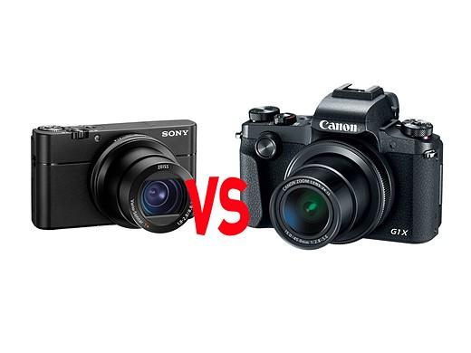 Canon G1 X III vs. Sony Cybershot RX100 V 1