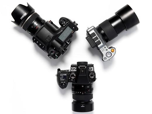 Fujifilm GFX 50S vs Pentax 645Z vs Hasselblad X1D 2