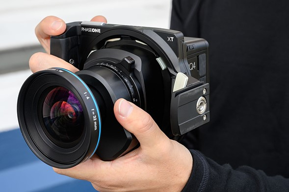 Hands-on with the Phase One XT camera system: Digital