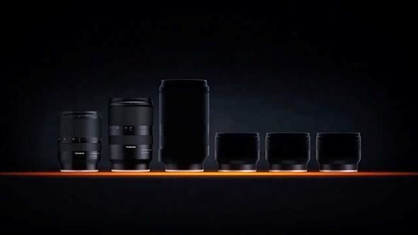 Tamron teases four new lenses for Sony E mount cameras