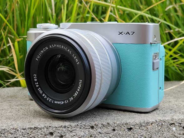 The X-A7 is Fujifilm's first