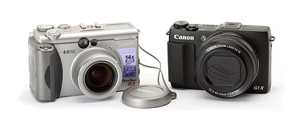 Throwback Thursday: The Canon PowerShot G3: Digital