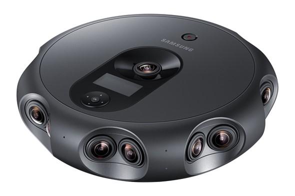 The Samsung 360 Round camera