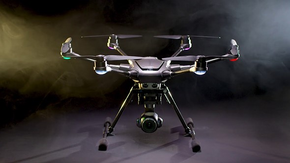 Yuneec's new Typhoon H Plus drone boasts a 1-inch sensor camera that shoots 4K 60p
