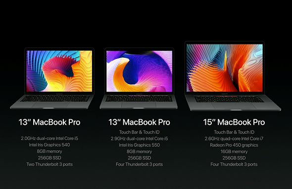 Apple revamps MacBook Pro lineup, adds 'Touch Bar' 2