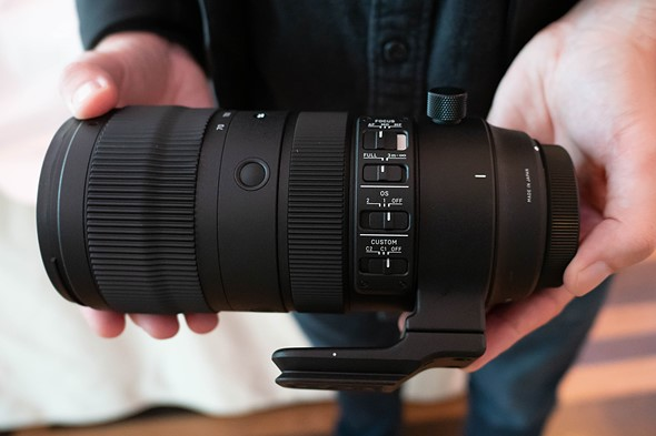 Sigma announces pricing and availability of its 70-200mm F2