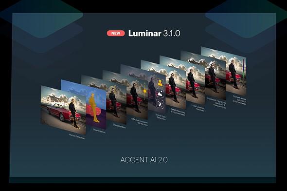 Luminar 3.1.0 update introduces 'human-aware' Accent AI 2.0 technology