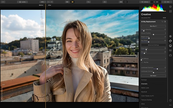 luminar4 3 - Luminar 4 available for pre-order, comes with new AI feature...