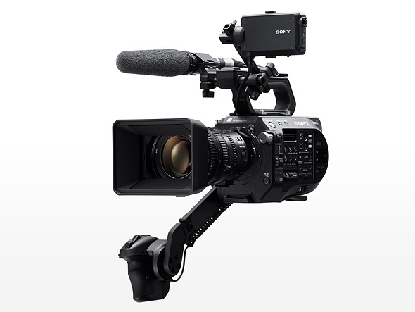 Sony announces the PXW-FS7 ll with electronic variable ND filter and new handling features 1