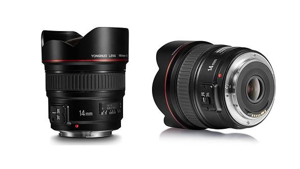 Yongnuo announces YN 14mm F2.8 Canon lens clone 2