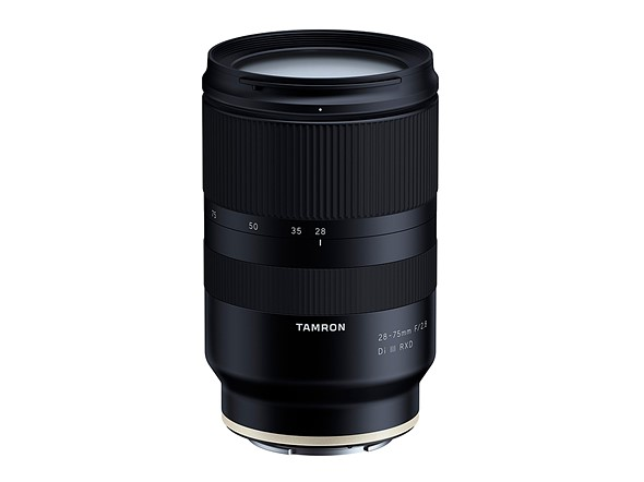 Tamron is working on a 28-75mm F2 8 lens for full-frame Sony
