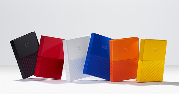 Western Digital gives My Passport and My Book drives a makeover 1