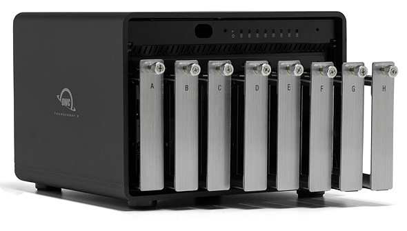 OWC ThunderBay 8 - OWC launches ThunderBay 8, ThunderBay FLEX 8 storage solutions with Thunderbolt 3