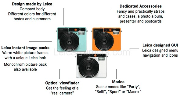 Leica-branded instant camera rumored to launch soon 2