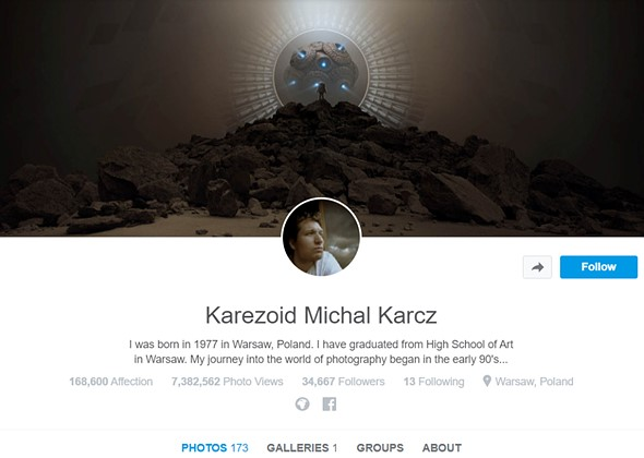 500px tells photo artist it once praised that his work is no longer welcome on platform