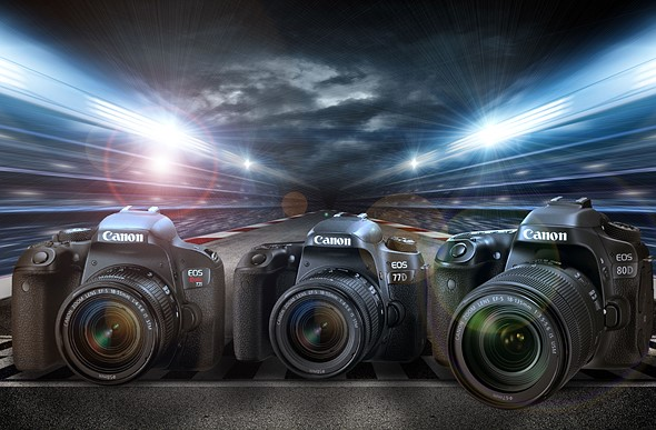 Buyer's Guide: Canon EOS Rebel T7i (800D) vs EOS 77D vs EOS