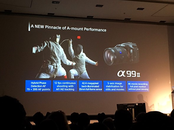 Sony announces 42MP Alpha 99 Mark II with 5-axis stabilization 2