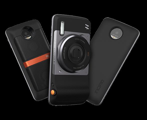Motorola shows off 'DSLR' and 360° camera Moto Mods at Ghana event