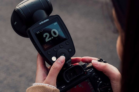 The Profoto A1X is un upgraded A1 with battery battery life, faster recycling time and more