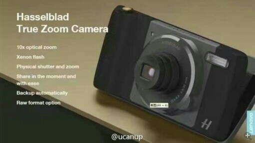 Hasselblad rumored to be working on 10x zoom camera module for Moto Z phones 2