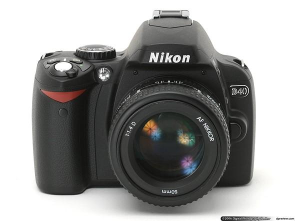 Throwback Thursday: Nikon D40 1