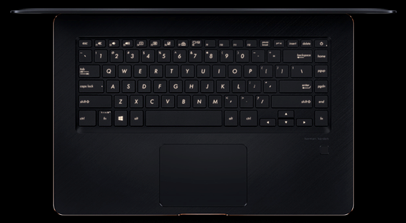 The new ASUS ZenBook Pro 15 features a 100% Adobe RGB 4K