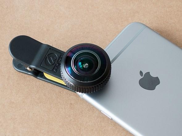 Quick review: Apexel 8mm fisheye lens for smartphones 1