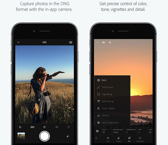 Adobe Lightroom for iOS updated with iPhone 7 camera profiles 1