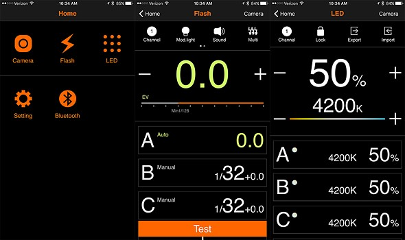 Godox's smartphone app can now control all Godox wireless flash units
