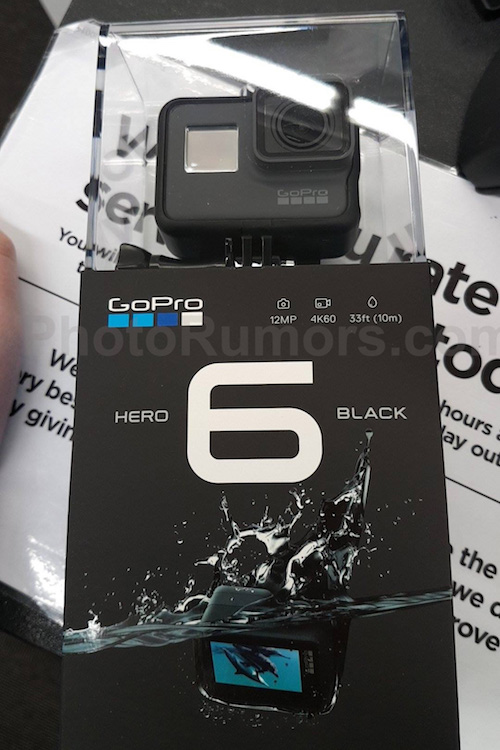 Photo of GoPro Hero6 leaked, will be able to shoot 4K at 60 fps 2