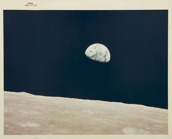 nasa main 1 - Sotheby's Space Photography auction includes NASA 'Red Numbe...