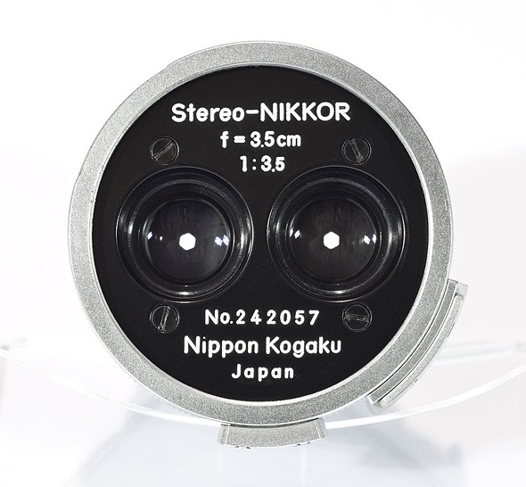 1956 Stereo-Nikkor 3.5cm F3.5 lens auction goes live on eBay 2
