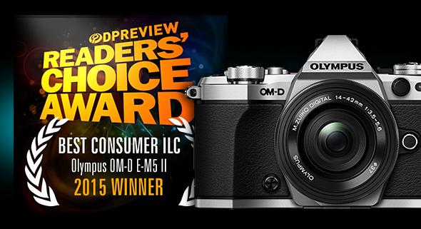 Winner- Best Consumer ILC:Olympus OM-D E-M5 II