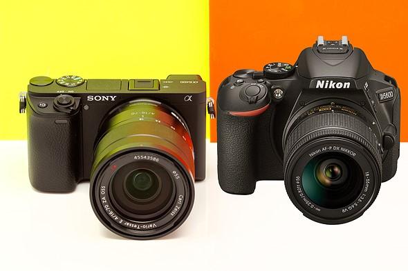 Sony a6400 vs Nikon D5600
