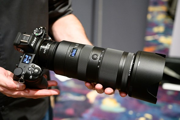 Hands-on with Nikon Z 70-200mm F2.8 S