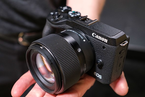 Hands-on with Sigma's APS-C primes for Canon at WPPI