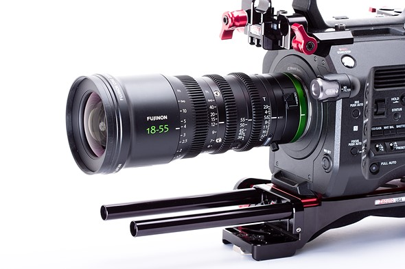 First look: Fujinon MK18-55mm T2.9 cine lens