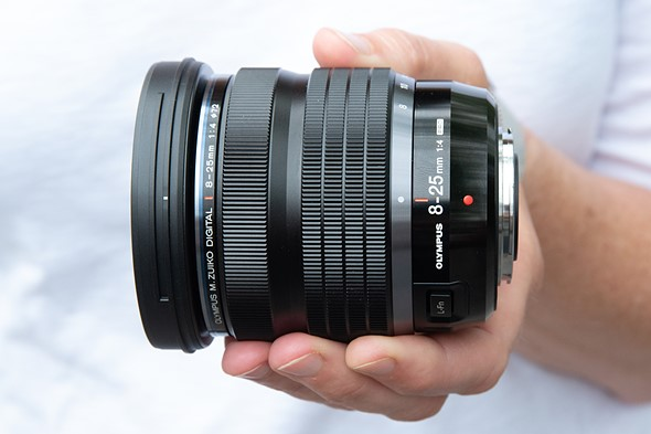 Hands-on with the Olympus M.Zuiko Digital ED 8-25mm F4 Pro