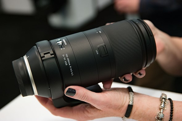 Hands-on with new Tamron 100-400mm F4.5-6.3 Di VC USD