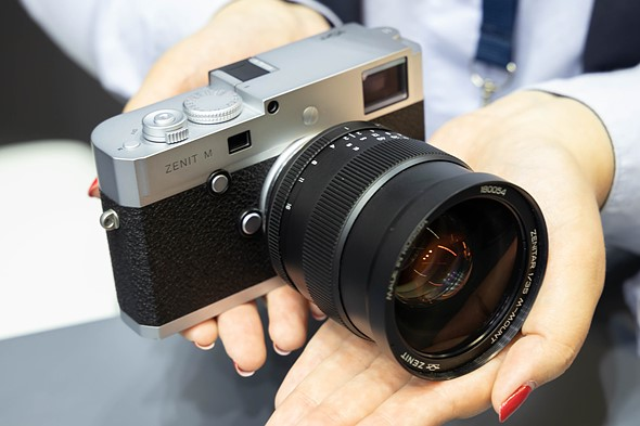 Designed in Russia, made in... Germany? It's the Zenit M