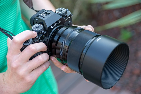Hands-on with the new Fujifilm XF 50mm F1.0 R WR