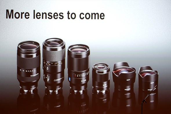 UpcomingSony FE lenses