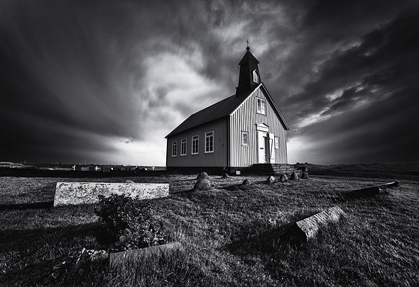 Pre-visualizing a scene in black and white can help you find better compositions