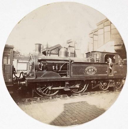 Metropolitan railway steam locomotive (<em>circa</em> 1890)
